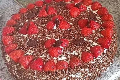 Schnelle Erdbeer - Mascarpone - Torte 29