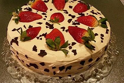 Schnelle Erdbeer - Mascarpone - Torte 2
