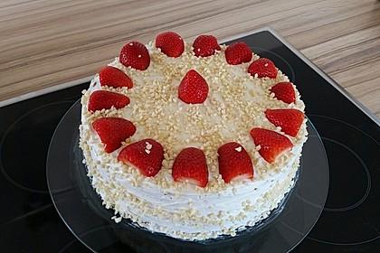 Schnelle Erdbeer - Mascarpone - Torte 1