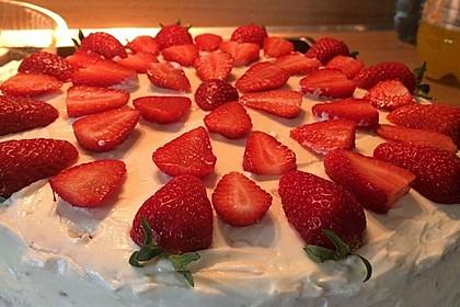 Schnelle Erdbeer - Mascarpone - Torte 34