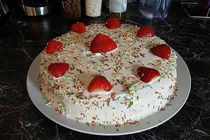 Schnelle Erdbeer - Mascarpone - Torte 39
