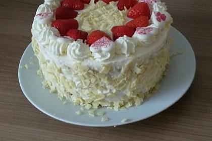 Schnelle Erdbeer - Mascarpone - Torte 18