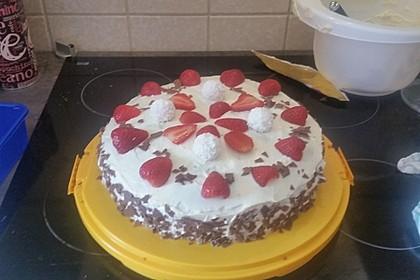 Schnelle Erdbeer - Mascarpone - Torte 21