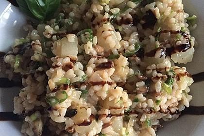 Kohlrabi-Risotto mit Pinienkernen 12