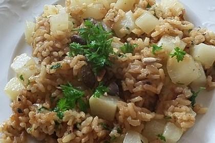 Kohlrabi-Risotto mit Pinienkernen 24