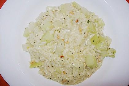 Kohlrabi - Risotto mit Pinienkernen 22