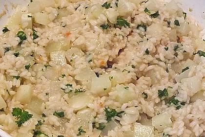 Kohlrabi - Risotto mit Pinienkernen 21