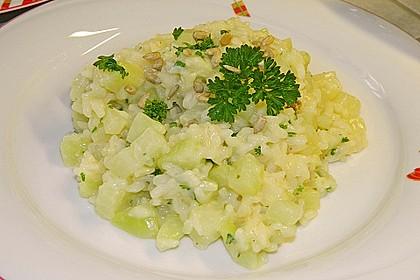 Kohlrabi - Risotto mit Pinienkernen 6