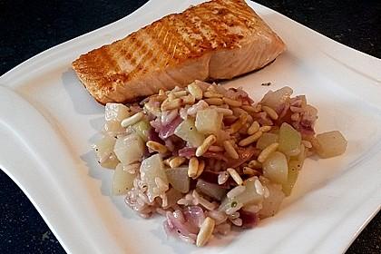 Kohlrabi - Risotto mit Pinienkernen 12