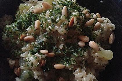 Kohlrabi-Risotto mit Pinienkernen 28