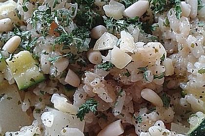 Kohlrabi-Risotto mit Pinienkernen 22