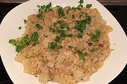 Kohlrabi - Risotto mit Pinienkernen 23