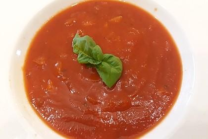 Altdeutsche Tomatensuppe mit Reis 4