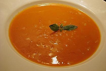 Altdeutsche Tomatensuppe mit Reis 7