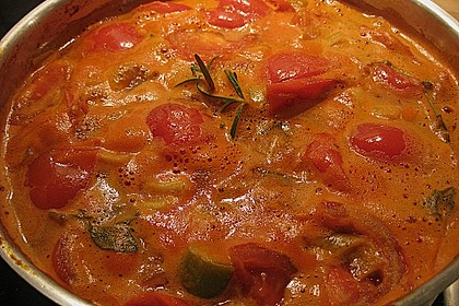 Altdeutsche Tomatensuppe mit Reis 5