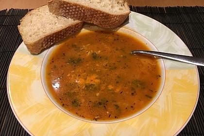 Altdeutsche Tomatensuppe mit Reis 8