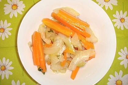 Fenchel - Karottengemüse 2