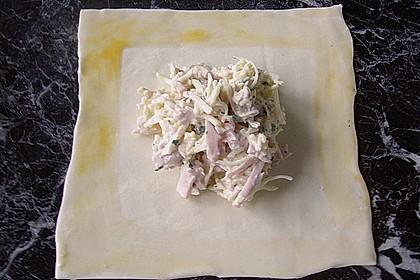 Käse - Schinkencroissants 1