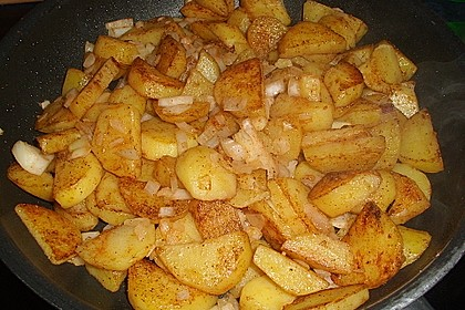 Knusprige Bratkartoffeln 5