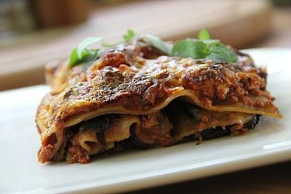 Vegetarische Lasagne mit Auberginen 3