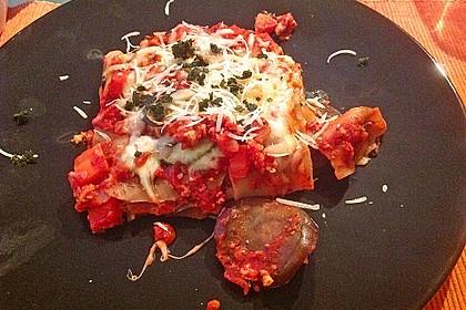 Vegetarische Lasagne mit Auberginen 5