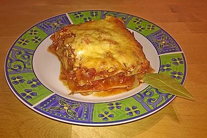 Vegetarische Lasagne mit Auberginen 6