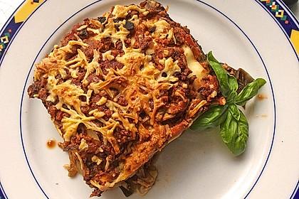 Vegetarische Lasagne mit Auberginen 2