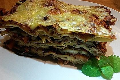 Vegetarische Lasagne mit Auberginen 1