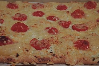 Frischkäse - Tomaten - Pizza 2