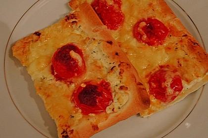Frischkäse - Tomaten - Pizza 1