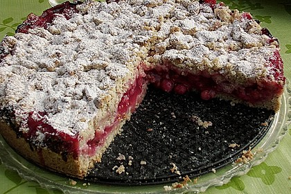 Feiner Johannisbeer - Streuselkuchen 2