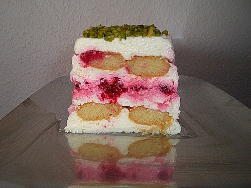 mascarpone biskuitkuchen mit himbeeren rezept mit bild. Black Bedroom Furniture Sets. Home Design Ideas