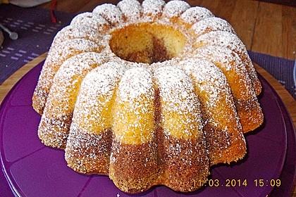 Marmorkuchen für eine 18er Form