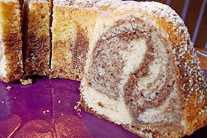 Marmorkuchen für eine 18er Form 2
