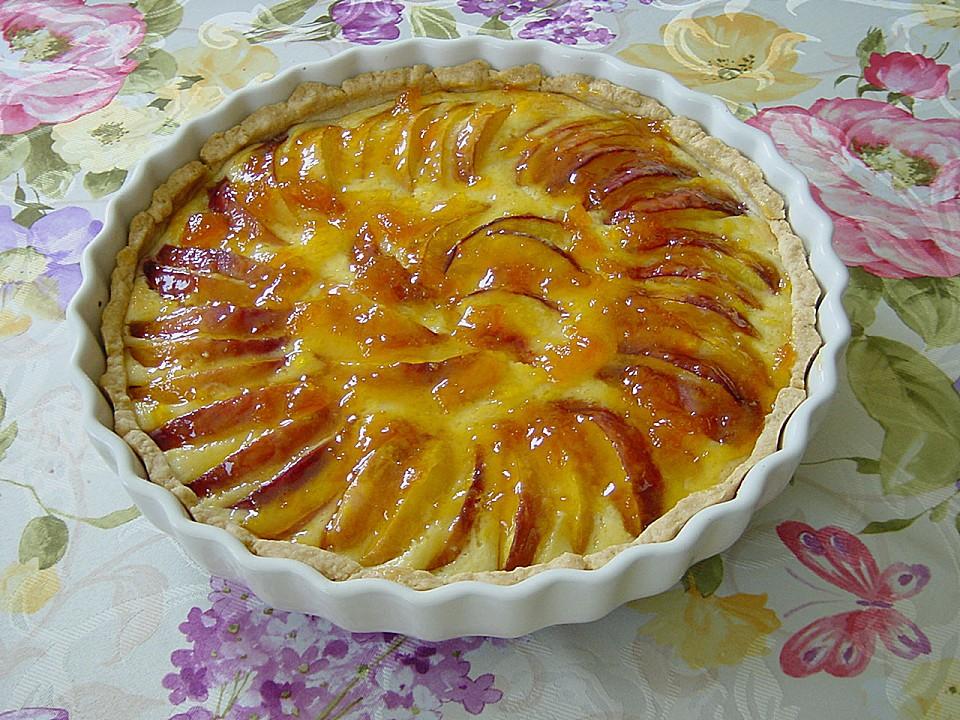 pfirsich tarte rezept mit bild von pumpkin pie. Black Bedroom Furniture Sets. Home Design Ideas