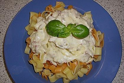 Estragon - Sahne - Schinken - Sauce 1