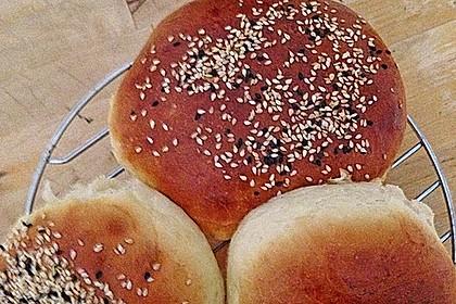 Hamburger Brötchen 150