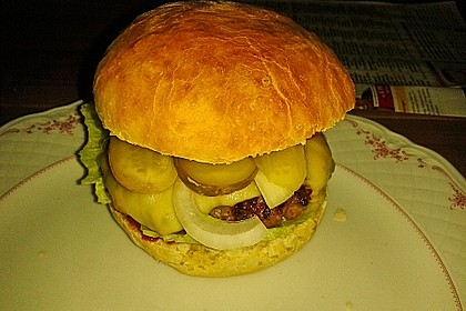 Hamburger Brötchen 90
