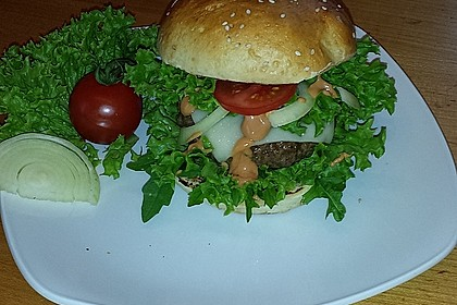 Hamburger Brötchen 125
