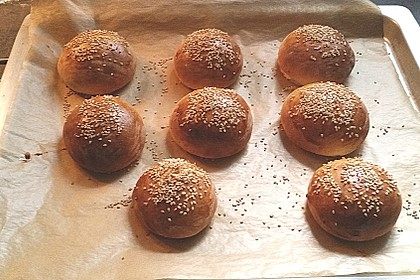 Hamburger Brötchen 91