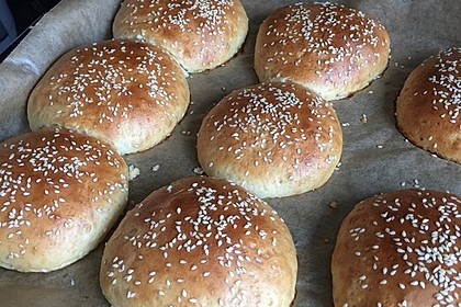 Hamburger Brötchen 100
