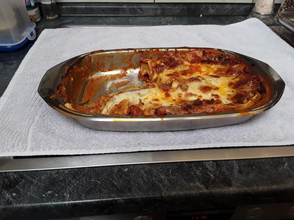 einfache schnelle lasagne rezept mit bild von ellaex
