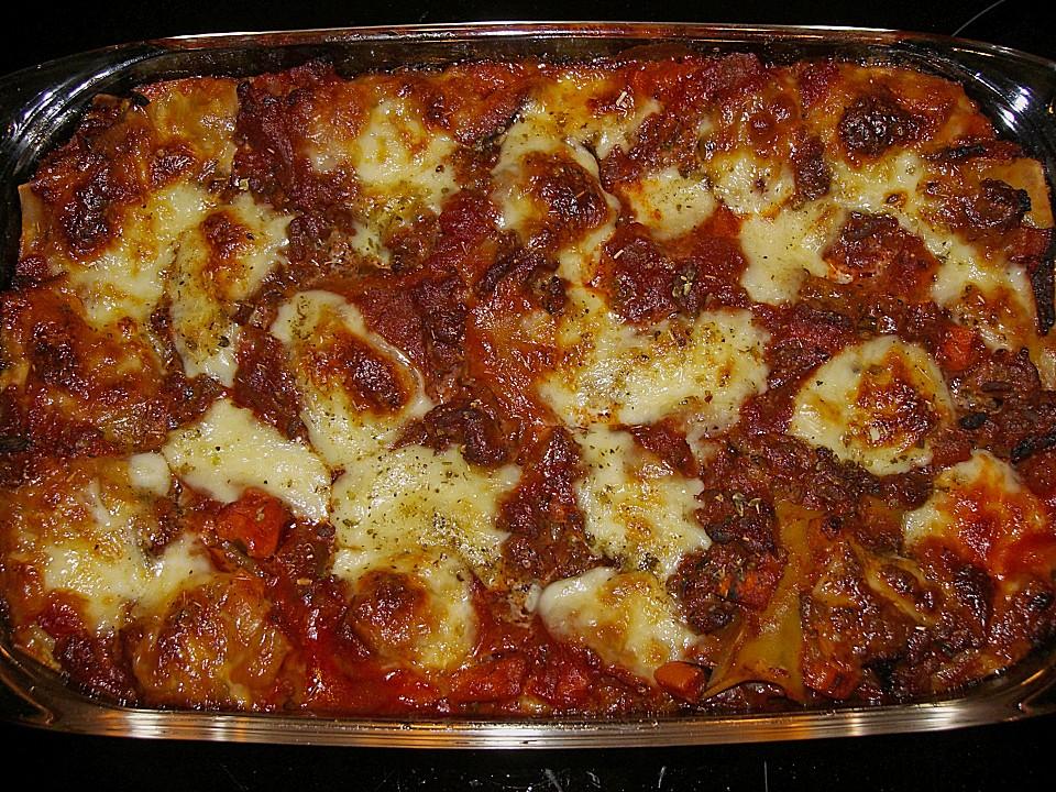 einfache, schnelle lasagne (rezept mit bild) von ellaex | chefkoch.de - Chefkoch Schnelle Küche