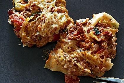 Einfache, schnelle Lasagne 12