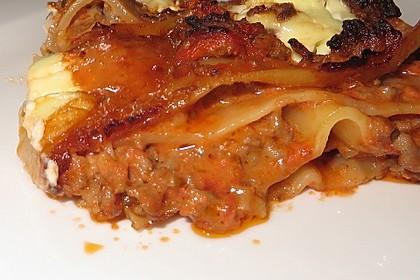 Einfache, schnelle Lasagne 3