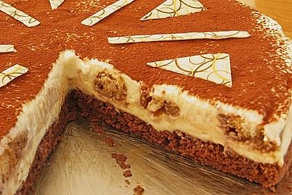 Manus leichte Tiramisu -Torte 31