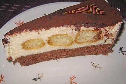 Manus leichte Tiramisu -Torte 15
