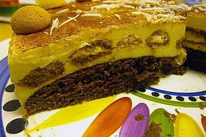 Manus leichte Tiramisu -Torte 22