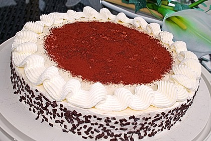 Manus leichte Tiramisu -Torte 1