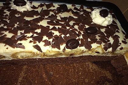 Manus leichte Tiramisu -Torte 27